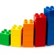 Lego doação peças usadas