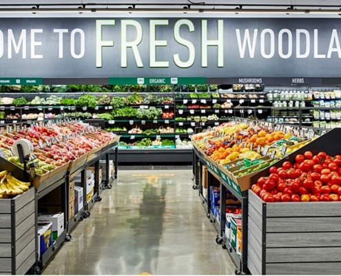 [Reuters] Amazon entra na briga dos supermercados inteligentes
